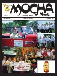 Mocha August 2010.indd - Mocha Shriners
