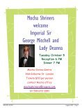 Mocha August 2010.indd - Mocha Shriners - Page 7