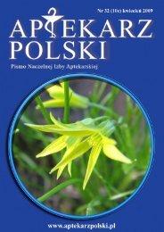 Aptekarz Polski - Naczelna Izba Aptekarska
