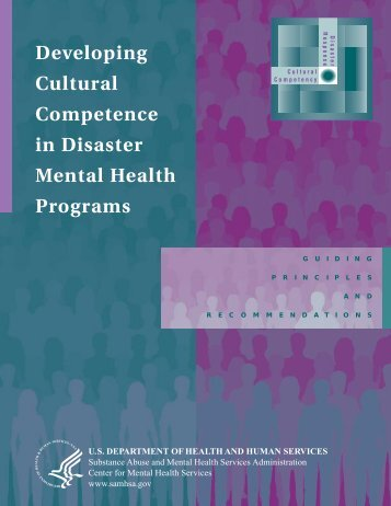Developing Cultural Competence in Disaster Mental Health Programs