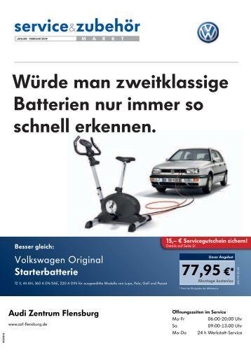 Würde man zweitklassige Batterien nur immer so ... - AZF Flensburg