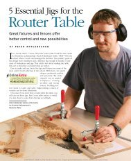 5 Essential Jigs for the Router Table - gerald@eberhardt.bz