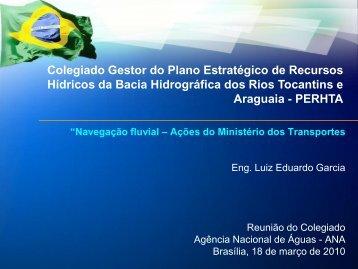 Hidrovia Tocantins - Ana