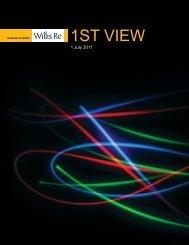 Willis Re 1st View Renewals Report