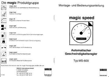 Die magic Produktgruppe