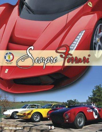 Volume 20 Issue 1 - January-March 2013 - Ferrari Club of America ...