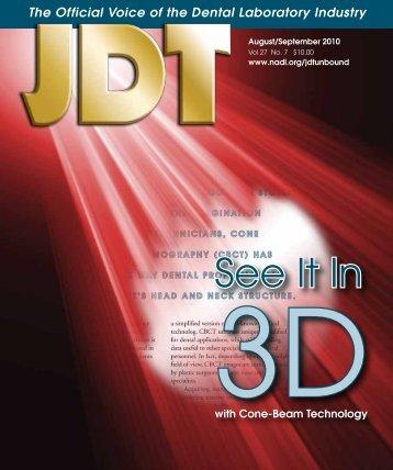 Journal of Dental Technology - JDT Unbound