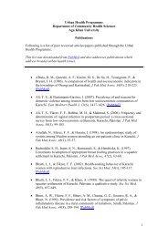 Research Publications - Aga Khan University