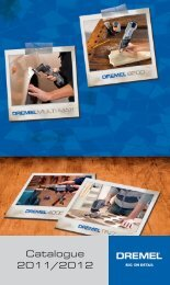 Catalogue 2011/2012 - Dremel