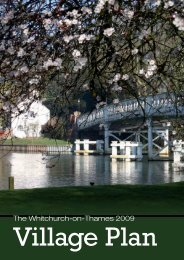 The Whitchurch-on-Thames 2009 - Oxfordshire County Council