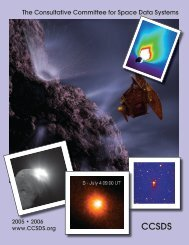 Brochure Fall05 spread - CCSDS