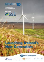 Launching Ireland's New Generation - Irish Wind Energy Association