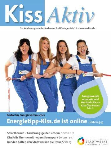 Energietipp-Kiss.de ist online Seiten 4-5 - Stadtwerke Bad Kissingen