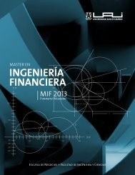 INGENIERÍA FINANCIERA - Universidad Adolfo Ibañez