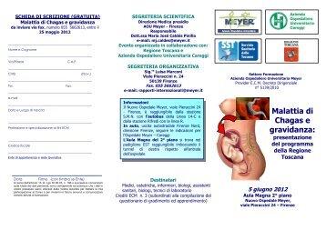 Malattia di Chagas e gravidanza - Azienda Ospedaliero ...