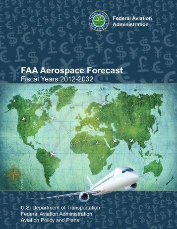 FAA Aerospace Forecast Fiscal Years 2012