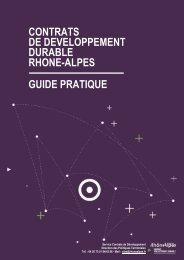 Contrats de Développement Durable Rhône-Alpes, guide pratique ...