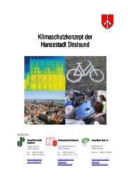 Stralsunder Klimaschutzkonzept - Hansestadt Stralsund
