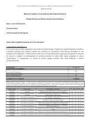 Data e orario dell'incontro Presenti (ruolo) Altri documenti di ...