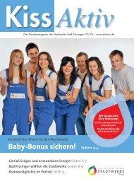 Baby-Bonus sichern! Seiten 4-5 - Stadtwerke Bad Kissingen