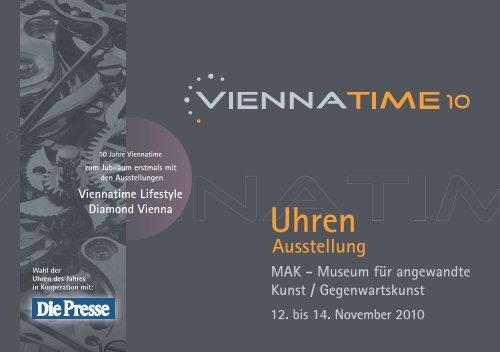 Dem Wunsch vieler Ausstellungsbesucher ... - Viennatime