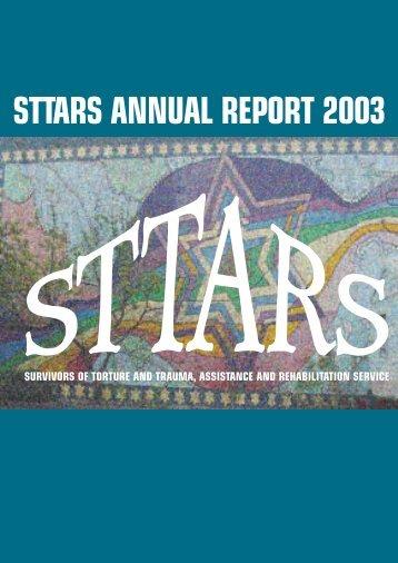 STTARS Annual Report 2003