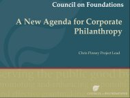 Download the presentation - Minnesota Council on Foundations