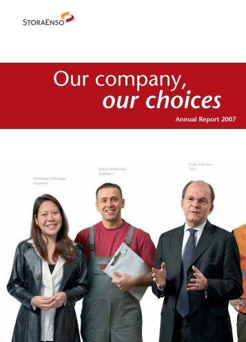 our choices - Stora Enso