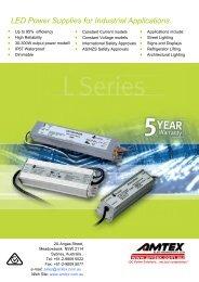 Page LED Power Supply Catalogue - Amtex Electronics