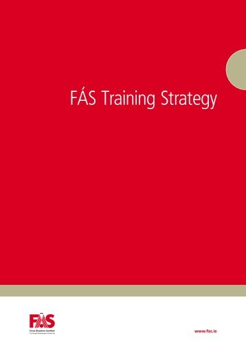 FÁS Training Strategy