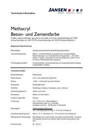 Methacryl Beton- und Zementfarbe - Colourandclean.de