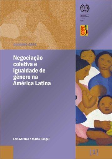Cadernos GRPE 1 - Organização Internacional do Trabalho