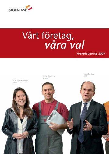 Årsredovisning 2007 - Stora Enso