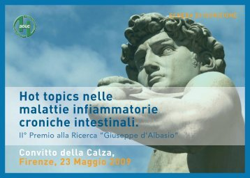 Hot topics nelle malattie infiammatorie croniche intestinali.