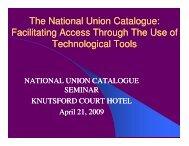 Facilitating Access Through Technological Tools
