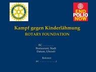 End Polio Now als pdf-Datei - Rotary International Distrikt 1860