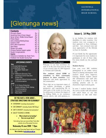 Newsletter Issue 4
