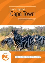 Cape Town - EC English