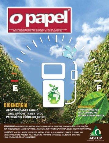 international article - Revista O Papel