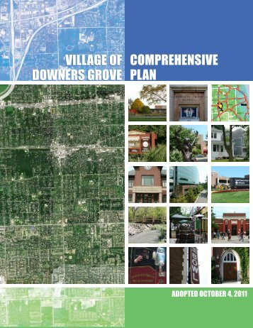 Comprehensive Plan - Village of Downers Grove