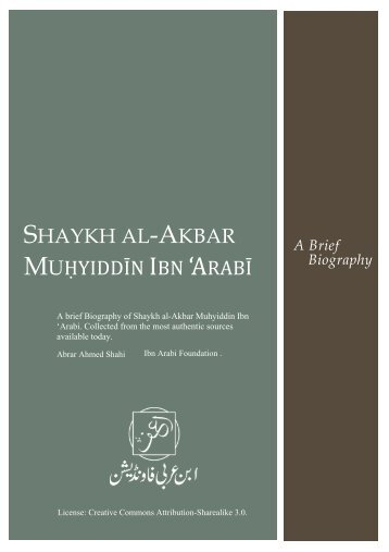 17234271-Saykh-al-Akbar-Ibn-Arabī-brief-biography