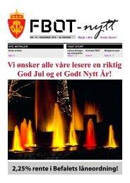 FBOT-nytt desember 2012 - Forsvaret