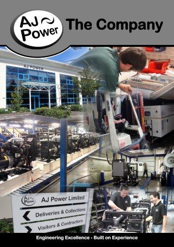 The Company - AJ Power Limited