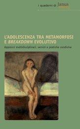 l'adolescenza tra metamorfosi e breakdown ... - Friuli Occidentale