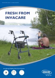 invacare walkers