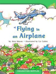 Lesson 17:Flying in an Airplane
