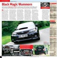 Black Magic Wummern - Subaru