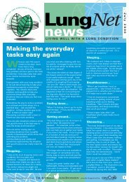 LungNet News July 2000 - Lung Foundation