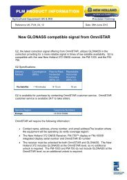 PLM Product Updates OmniSTAR G2 Service.pdf - New Holland ...