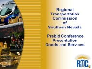 Pre-Bid Conference - Regional Transportation Commission of ...